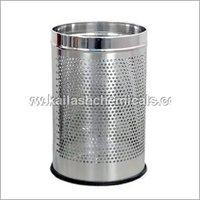 Stainless Steel Open Plain Bin