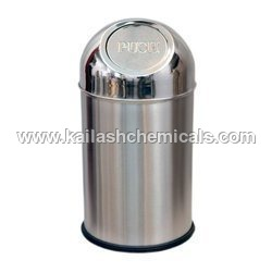 Stainless Steel Push Can Bin