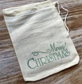 Cotton Muslin Drawstring Bag