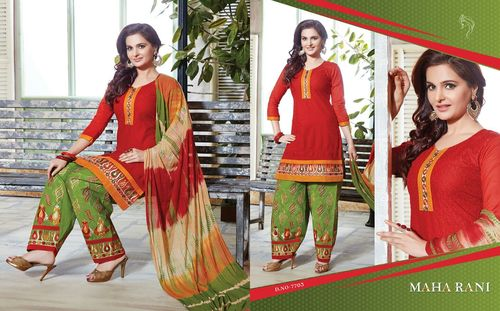 Khwaish Embroidery Patch Work Designer Suits