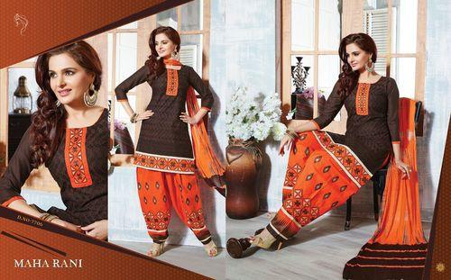 Party Wear Bottom Work Salwar Suits