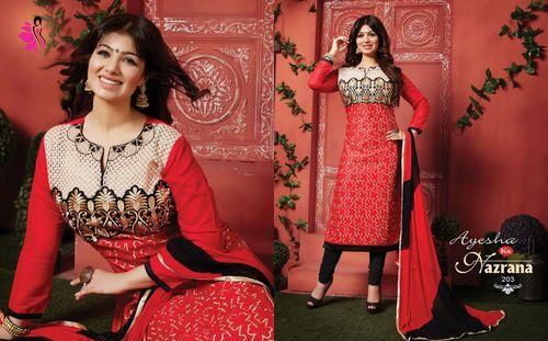 Online Churidar Dress Materials Wholesaler