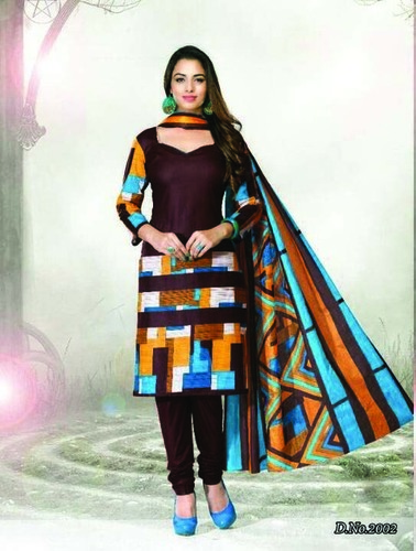 Printed Dress Materials Wholesale Collection