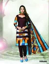 Dhaga Pure Cotton Printed Dress Materials Jetpur