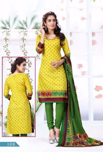 Cotton Khadi Printe Salwar Suits Online