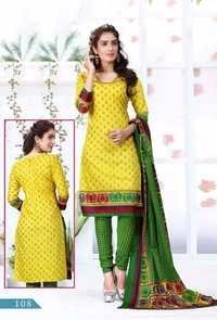 Cotton Khadi Printe Salwar Suits Online