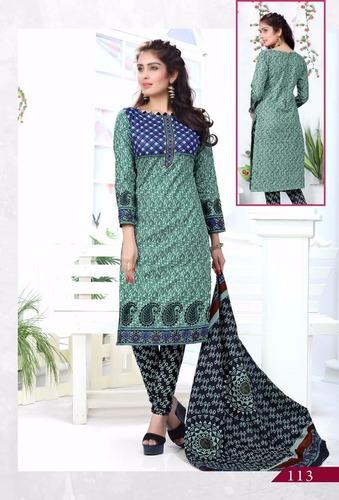 72da53e2f7 Online Cotton Printed Salwar Suits Wholesale - Online Cotton Printed ...