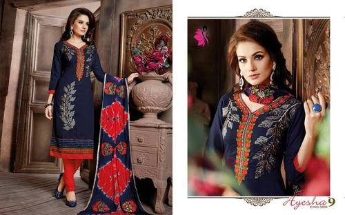 Khwaish Suits Ayesha 9 Wholesale Rate