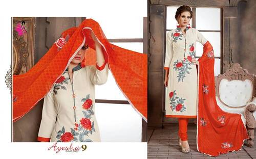 New Stylish Wedding Salwar Suits Ayesha 9