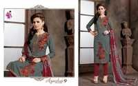 Ayesha 9 Salwar Suits & Dupatta Work