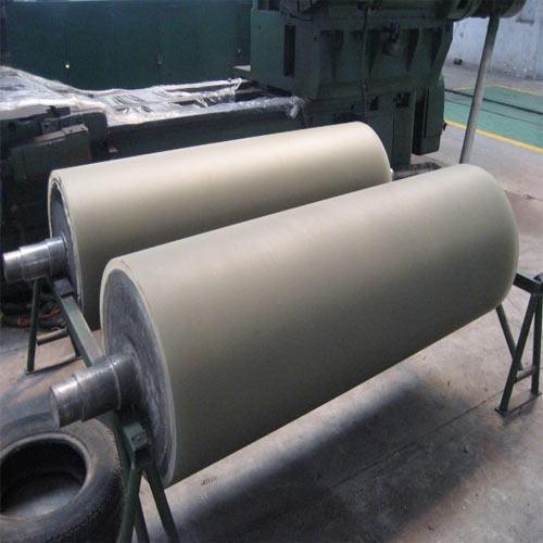 Grooved Press Roller