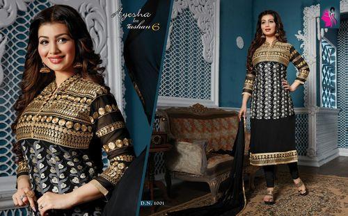 Ayesha Ka Tashan 6 Chiffon Salwar Suits