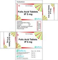 Folic Acid Tablet IP 400 mcg