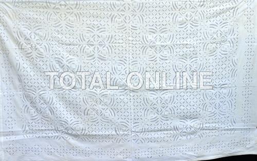 Beautiful  Bedsheet With Barmeri works