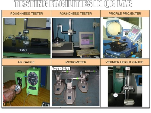 Checking facilities  in QC Lab