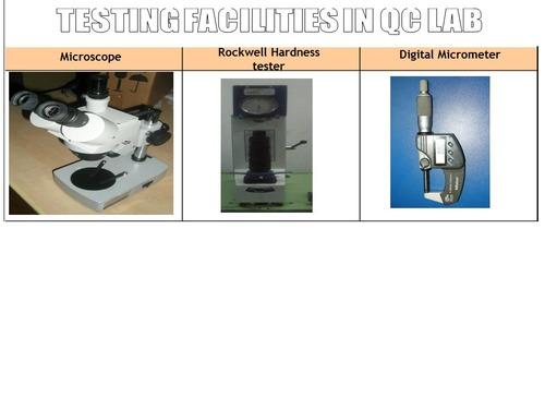 Quality Checking Facility