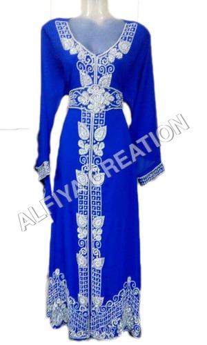 Arabic Moroccan Kaftan Abaya Dress For Women