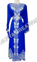 Arabic Moroccan Kaftan Abaya Dress For Women