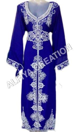 Morccan Evening Wear Fancy Kaftan Dress