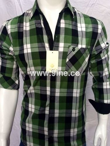 BRAND 9INE CHECKS SHIRT - 102/1
