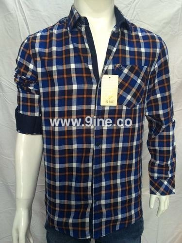 CHECKS SHIRTS FOR MEN -  100/2