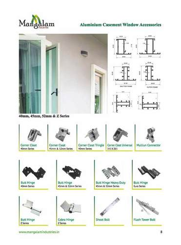 Aluminium Casement Window Accessories