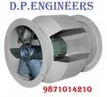 Bifurcated Axial Flow Fan