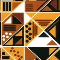 Geometric Leather Transfer Foil