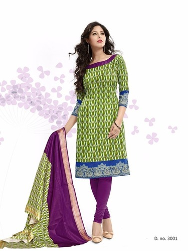 Latest Kavya Pure Cotton Dress Materials