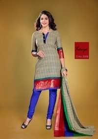 Kavya One Side Border Printed Salwar suits