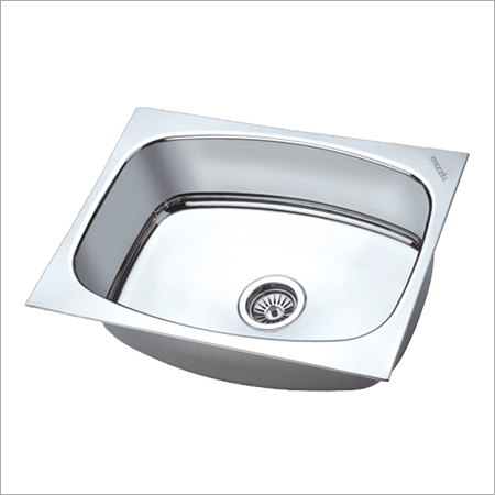 kitchen undermount sink steel single ls stainless bowl