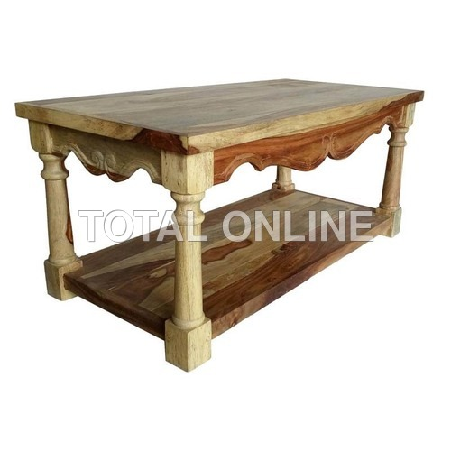 Alluring Wooden Coffee Table