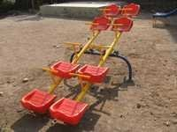 Double Multi Seater See Saw