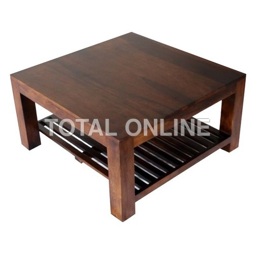 Coffee Table With an Additional Shelf