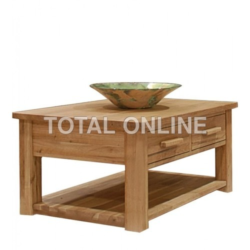 Pleasing Low Table Unit Made of Mango Wood