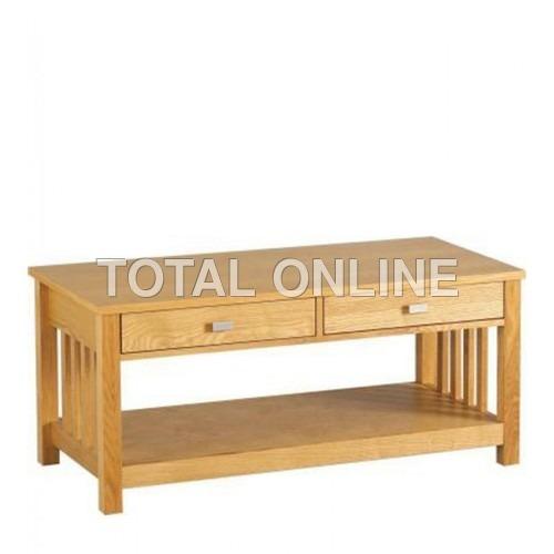 Stylish Low Table Made of Mango Wood