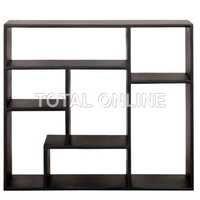 Multi Block Wooden Solid Wall Book Shelf