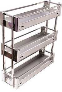 SS ACP  Bottle Pullout 3 Shelf