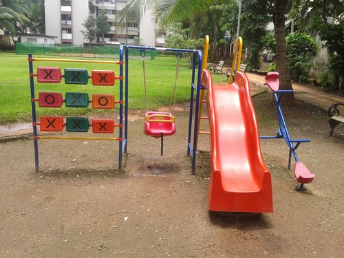 4 In 1 Combination Kids Playing Equipment