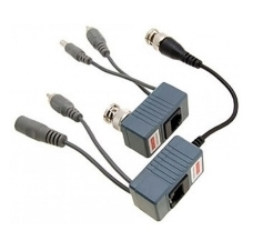 SINGLE CHANNEL UTP BALUN WITH POWER ON UTP CABLE