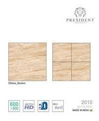 Daina Brown Glazed Porcelain tile