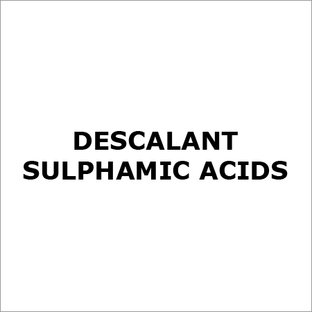 Sulfamic Acids