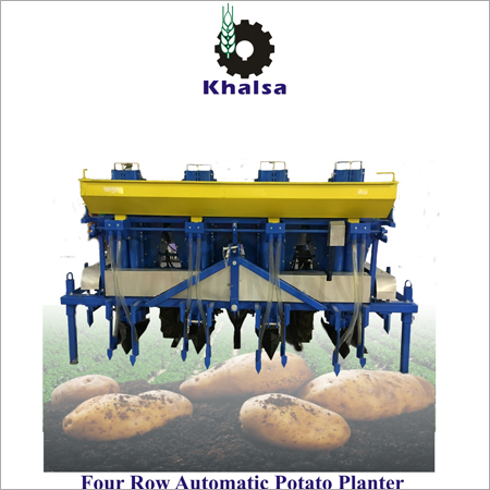 Disc Type Potato Planter