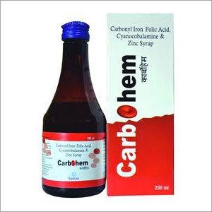 Carbonyl Iron Folic Acid, Cyanocobalamine, Zinc Syrup