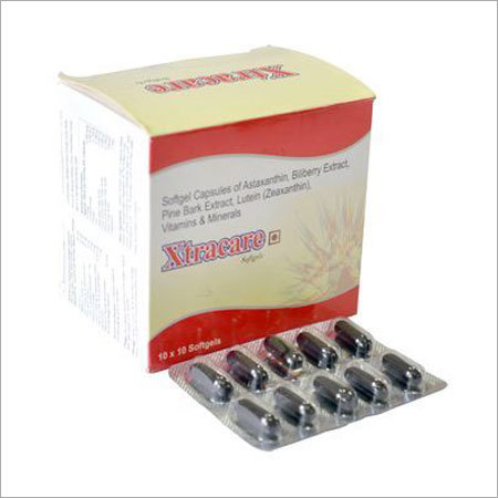 Multivitamin Soft Gelatin Capsule