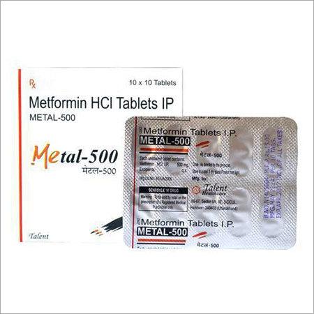 Metformin 500 mg tablet