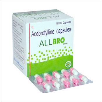 Acebrophylline 100 mg capsule