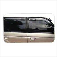 Mitsubishi Door Visor Pajero Black Dotted Wdv 182