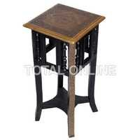 Antique Style Square Shape Wooden Long Stool