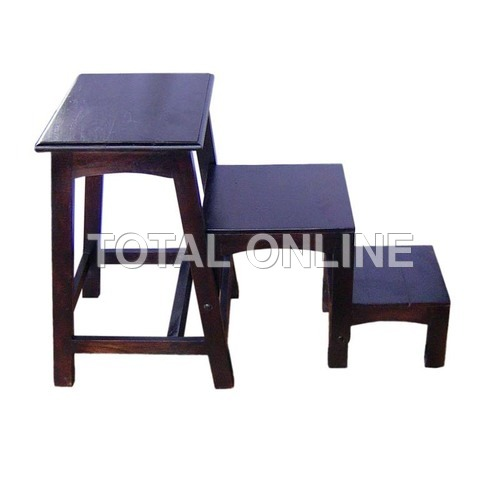 Classic Set of Wooden Tables